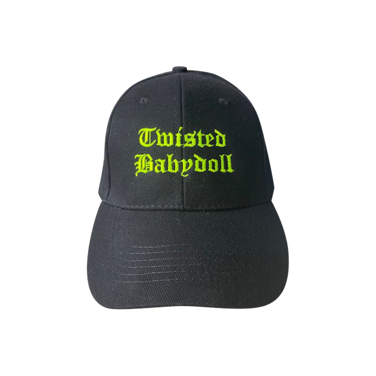 TwistedBabyDoll Cap Yellow Logo